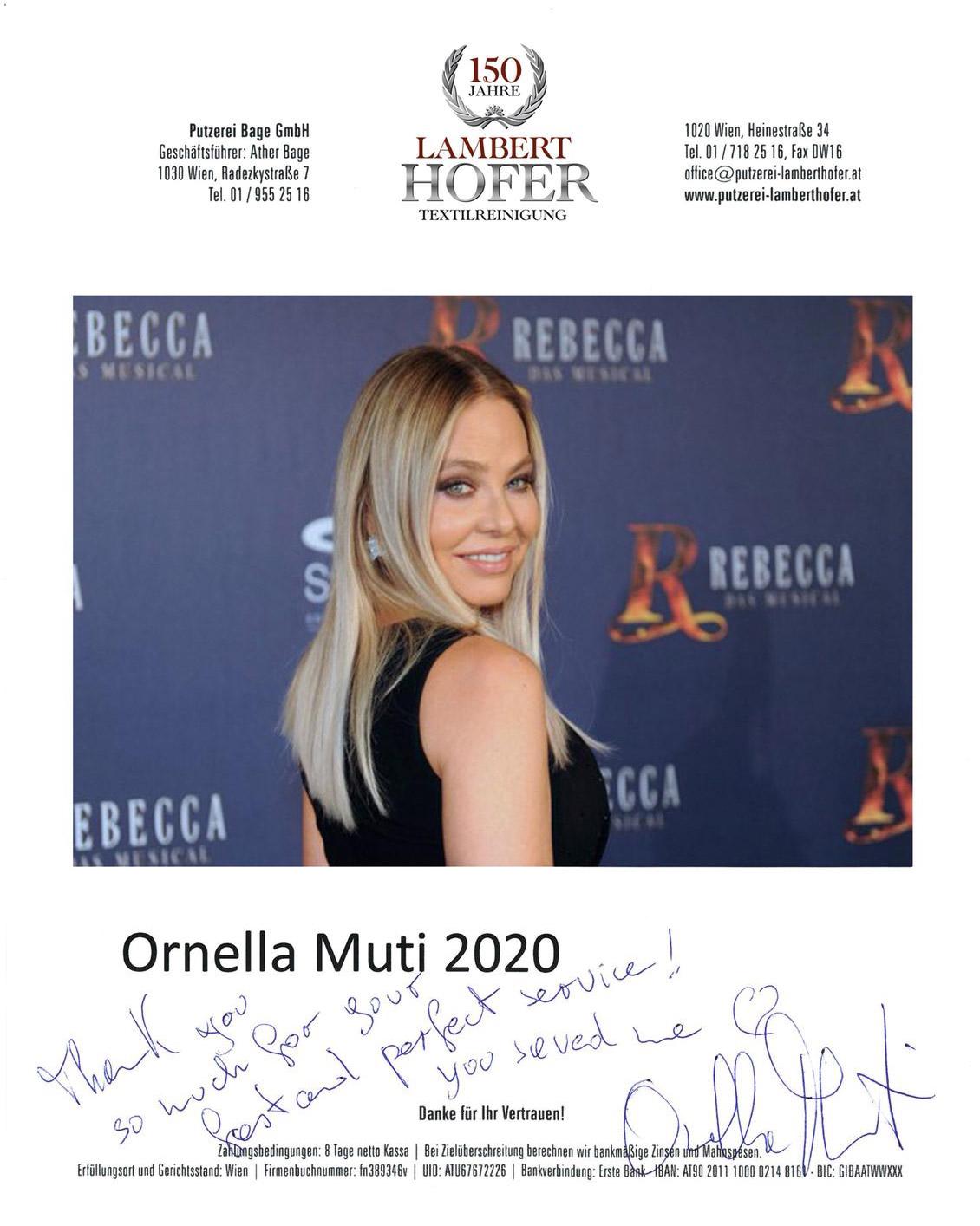 Ornella Muti - Opernball 2020